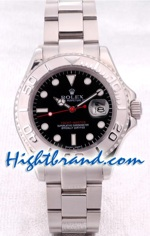 Rolex Yachtmaster Black Face 1